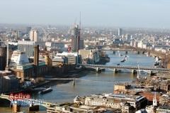 Вид на Лондон с высоты