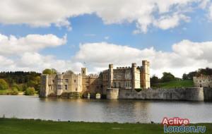 Замок на воде Лидс