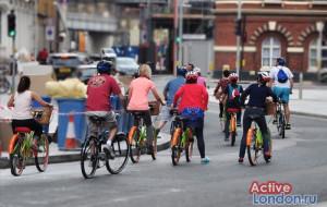 Велосипедный тур по Лондону