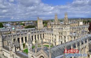 Виды на Оксфордский университет