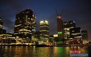 Деловой квартал в Лондоне