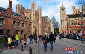 Кингс-колледж в Кембридже